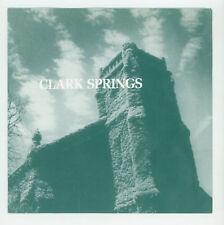 """jangly indie pop UK: CLARK SPRINGS : Talking Kent State - 7"""" AUSTRALIA 1992"""