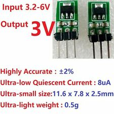 2x 3.7V 5V to 3V DC-DC Step-Down Power Supply Buck LDO Module Regulator Board
