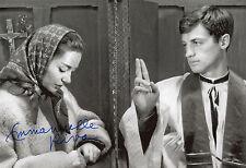 Emmanuelle RIVA Autographe 20-30cm Autograph Autogramm DEDICACE PHOTO SIGNEE