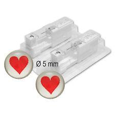 1 Paar STUDEX Medizinische Ohrstecker Rotes Herz Chirugenstahl ***26135.608