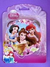 DISNEY PRINCESS 10CM TAMBOURINE BNIB FEATURES SNOW WHITE, BELLE AND ARIEL