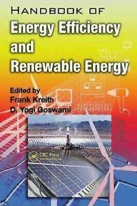 Manuel De Énergie Efficacité Et Renouvelables Couverture Rigide Frank Kreith