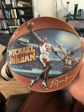 "Upper Deck/Bradford Exchange Michael Jordan ""5 Time Nba Mvp"" Collector's Plate."