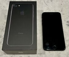 Black iPhone 7 128gb Cell Phone AT&T