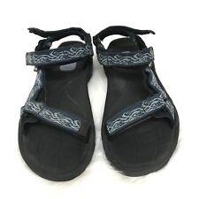 Teva Hurricane XLT Women Sandal Blue Black Size 10 Hiking Grip Sandal