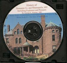 Hennepin County and Minneapolis Minnesota History,  + Bonus Book