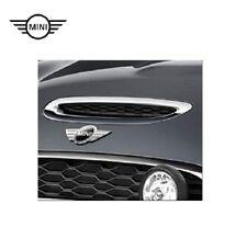 Original MINI CooperS JCW Chrom Lufteinlassblende Motorhaube 51142348097+9908046
