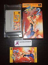 FINAL FIGHT 2 II - CAPCOM - SUPER FAMICOM NES IMPORT JAPON