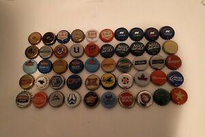 Lot of 50 beer caps capsules de biere kronkorken tapas de cerveza kapsle do piwa