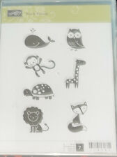 Stampin Up! Stamps Fox and Friends Whale, Owl,Monkey, Giraffe,Turtle,Lion & Fox!