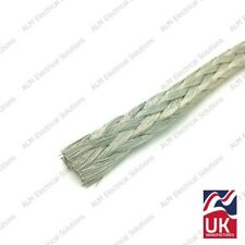 Tinned Copper Earth Braid For Battery Earth Straps & Cables 19mm² 130A