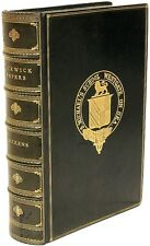 DICKENS - Posthumous Papers of The Pickwick Club - IN A FULL LEATHER BINDING!