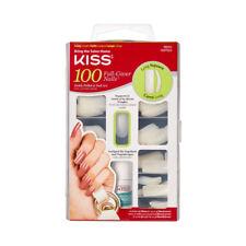 Kiss 100 Full Cover Nails Kit Long Square 1 EA