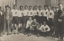 FUTBOL JUEGOS OLIMPICOS 1924 EQUIPE DE YOUGO-SLAVIE  314  REAL PHOTO