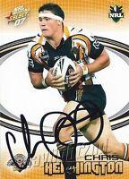 ✺Signed✺ 2007 WESTS TIGERS NRL Card CHRIS HEIGHINGTON