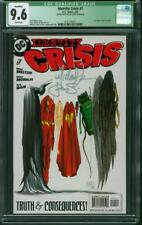 Identity Crisis 7 CGC 9.6 Michael Turner Steigerwald 2 Sign Justice League Film