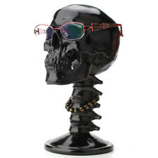 Resin Skull Glasses Eyeglasses Holder Display Stand Desktop Decoration