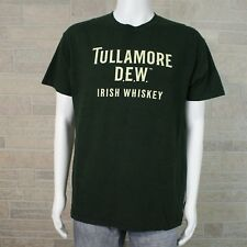 Men's LARGE Tullamore Dew Irish Whiskey Green SS Graphic Tee T-shirt