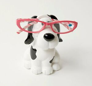 Black and White Dog Piggybank Eye Glass Holder
