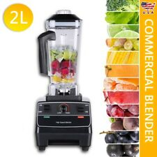2L 3HP Heavy Duty Food Blender Mixer For Juicer Fruit Ice Smoothie Maker 2200W