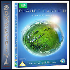 PLANET EARTH II - COMPLETE SERIES 2 - DAVID ATTENBOROUGH **BRAND NEW DVD***