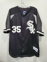 Rare Vintage 90s Majestic Chicago White Sox  Frank Thomas 35 Jersey Mens XL Sewn