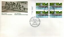 1982 #968 Royal Canadian Henley Regatta LL PL BLK FDC with CP cachet