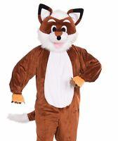 adult red fox costume plush furry deluxe mascot cosplay - Swiper Halloween Costume