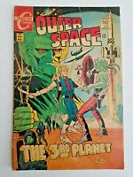 🚀 Outer Space No.1 Charlton 12 cent Silver-Age Nov.1968 in VG