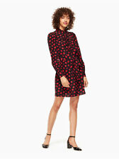 Kate Spade New York - Mini Poppy Shirtdress - Size Small 100% Silk NEW WITH TAGS