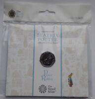 UK Royal Mint 2017 Beatrix Potter Peter Rabbit 50p Fifty Pence Coin Pack BU (1)
