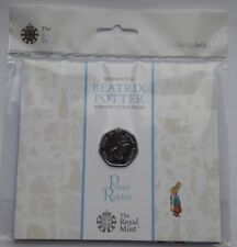 UK Royal Mint 2017 Beatrix Potter Peter Rabbit 50p Fifty Pence Coin Pack BU (1)
