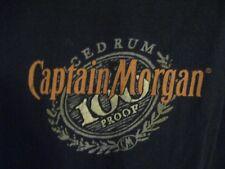 Captain Morgan Spiced Rum Men's T-Shirt Shirt 100 Proof Measures like a Large