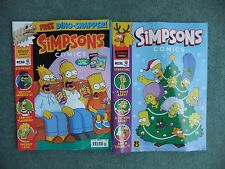 Pair of Simpson comics, Edition numbers 231 & 233