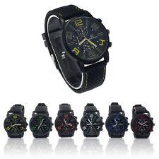 Watches Mens Luxury Stainless Steel Luxury Sport Analog Quartz Watch WristWatch