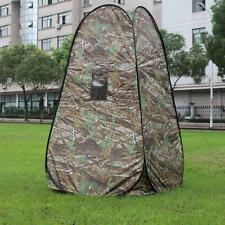 Portable Privacy Shower Toilet Camping Pop Up Tent Camouflage Changing Tent M6G3