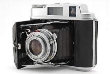 【Ultra Rare! MINT】Konica Pearl IV Camera Body w/ Hexar 75mm f3.5 from Japan 202