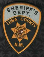 BACA COUNTY SHERIFF COLORADO SHOULDER PATCH NEW STYLE