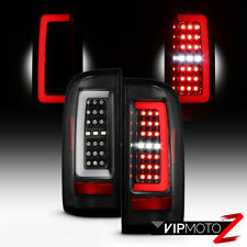[FULL LED] For 15-19 Chevy Colorado Pickup Black Neon Tube Tail Light Lamp Pair