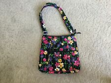 NWOT Vera Bradley Hipster WILDFLOWER Colorful Floral Crossbody Shoulder Purse