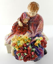 "Vintage Royal Doulton ""The Flower Seller's Children"" Figurine 8"" HN 1342 Retired"