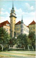 uralte AK, Torgau, Schloss Hartenfels, Südwestweite