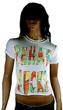 Amplified Rehab Sucks Royaume-Uni CLUB culte rock star vintage vip Tee-shirt G.