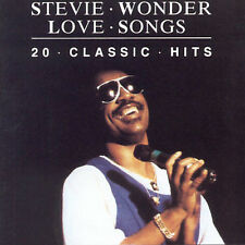 STEVIE WONDER - LOVE SONGS-20 CLASSIC HITS (NEW CD)