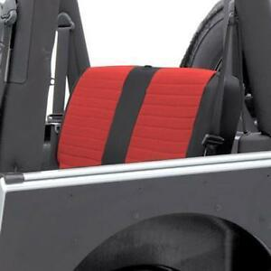 Smittybilt XRC Rear Seat Cover For '07-'13 Jeep Wrangler Unlimited 2 Door 759130