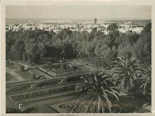 Les jardins de la Résidence à Rabat (Maroc, Morocco). Ca. 1935.