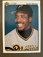 Barry Bonds: 1992 Upper Deck #134, Pittsburgh Pirates