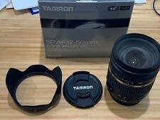 Tamron SP AF17-50mm F/2.8 XR Di II VC - + UV filter and lens hood, original box