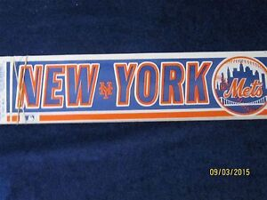 10 bumper stickers  MLB  New York Mets