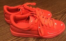 Puma 362246 05 Basket Future Bright Cherry Red Gym Shoes Sneakers Sz 5.5 Ne